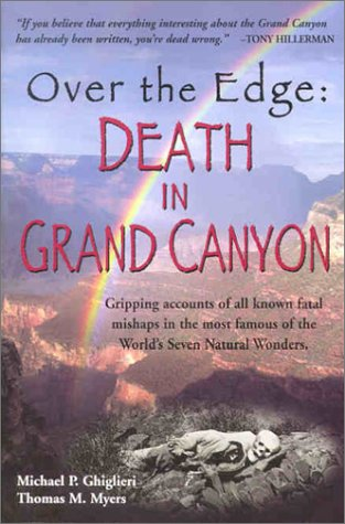 Cover des Buches Over the Edge: Death in Grand Canyon