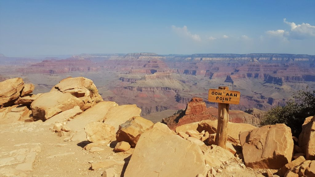 Ooh Aah Point mit toller Aussicht am South Kaibab Trail