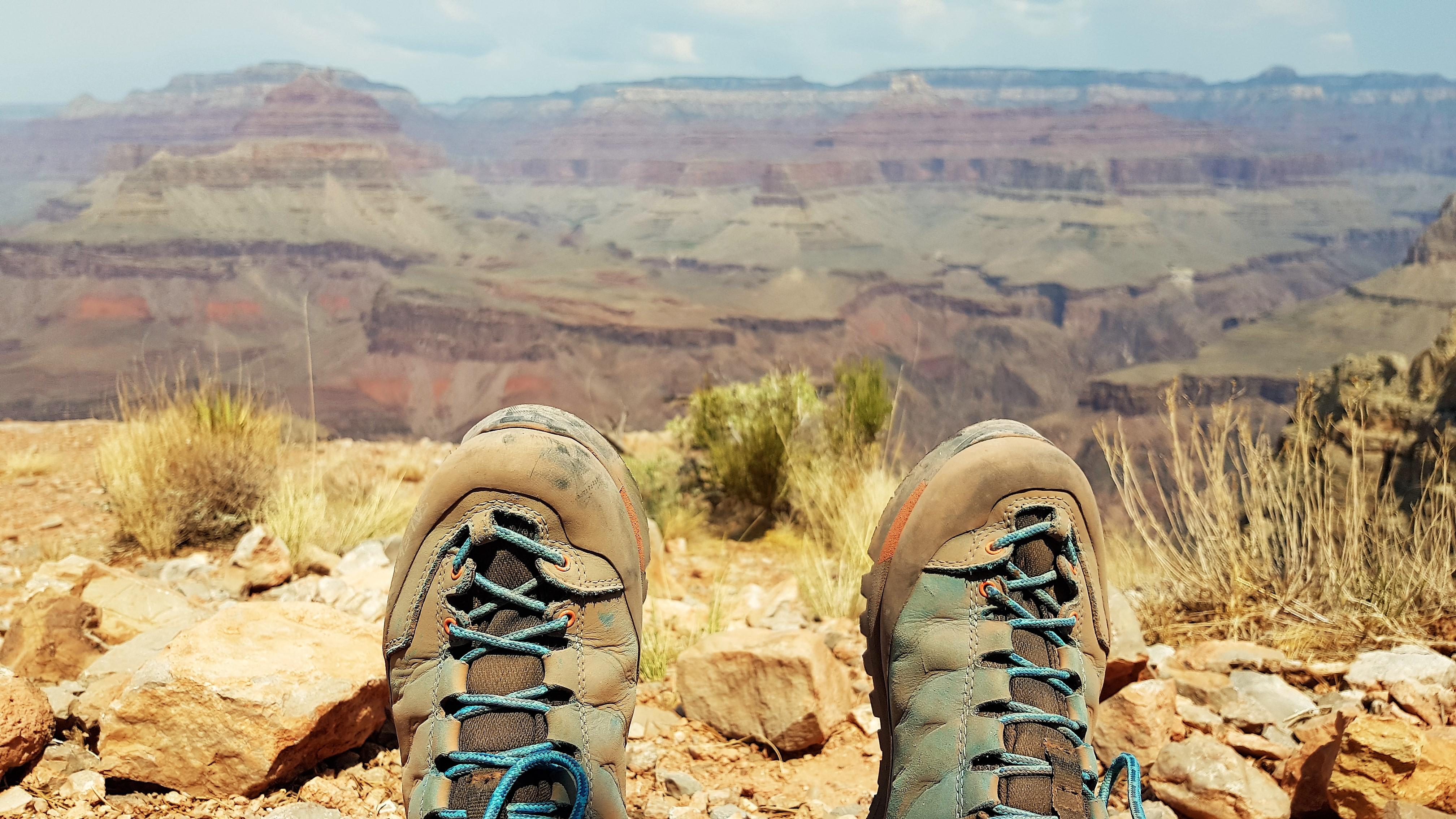 Aussicht am Skeleton Point des South Kaibab Trails