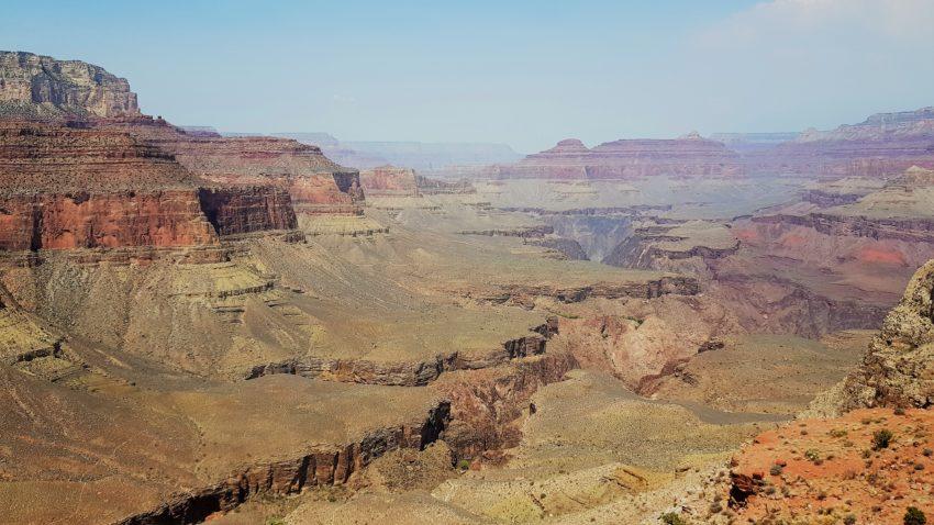 Blick in den Grand Canyon