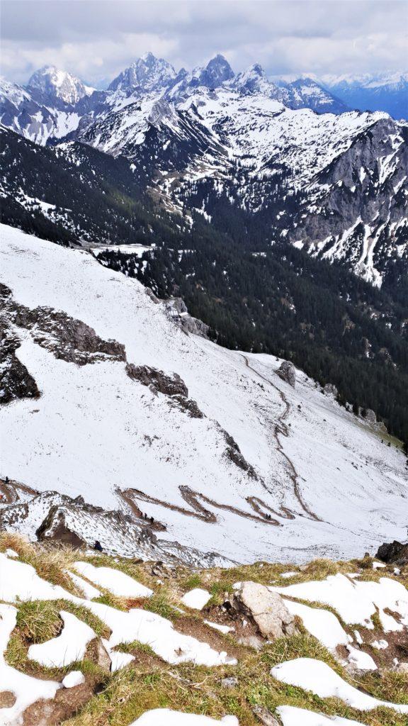 Der Weg hoch zum Aggenstein
