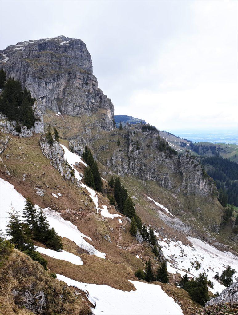 Ostallgäuer Höhenweg auf die Bad Kissinger Hütte