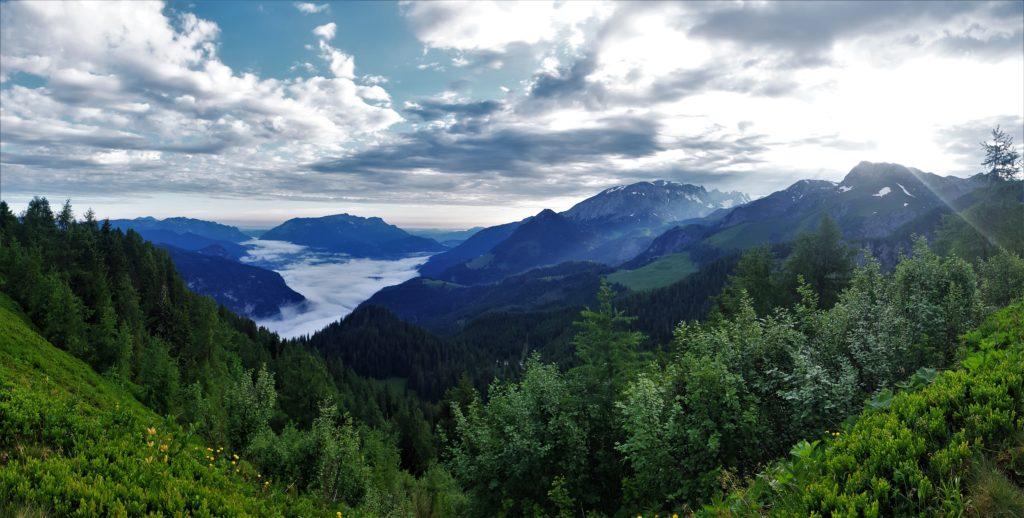 Blick auf das Berchtsgadener Land
