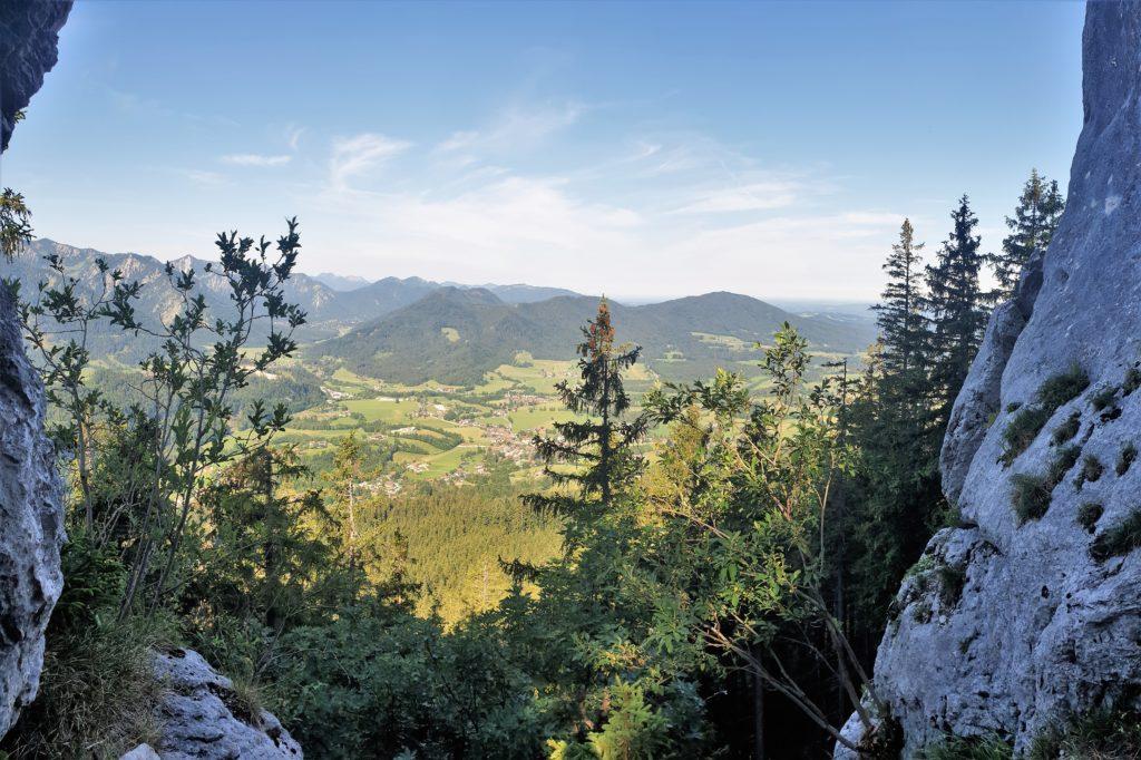 Ausblick vom Breitensteiner Fensterl