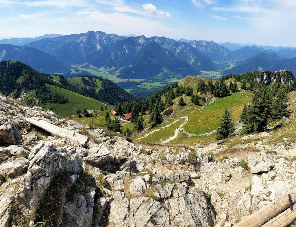 Blick vom Gipfel des Breitenstein