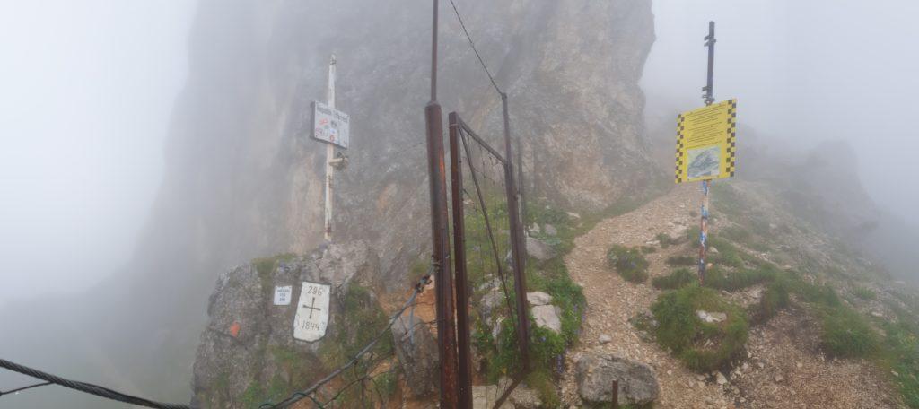 Das Gatterl - die Grenze zwischen Österreich und Deutschland