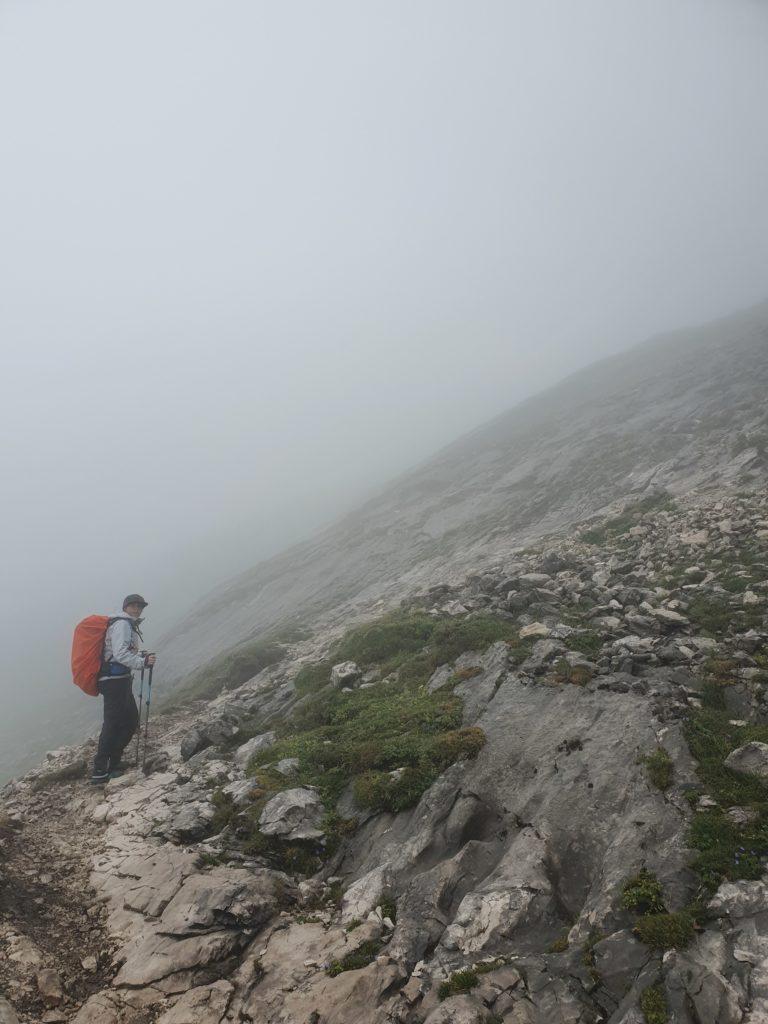 Wanderung im Nebel