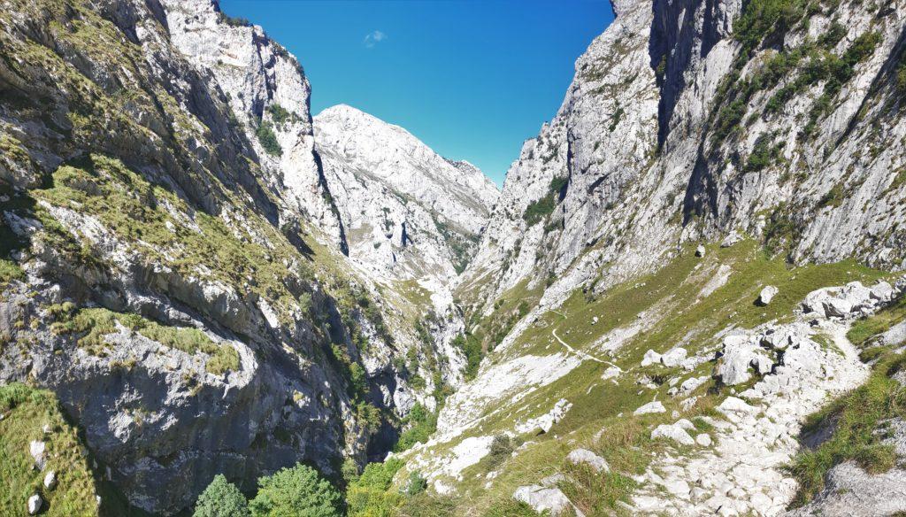Schlucht in den Picos de Europa