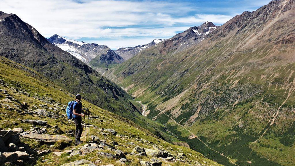 Das Venter Tal mit dem Weg zur Martin-Busch-Hütte