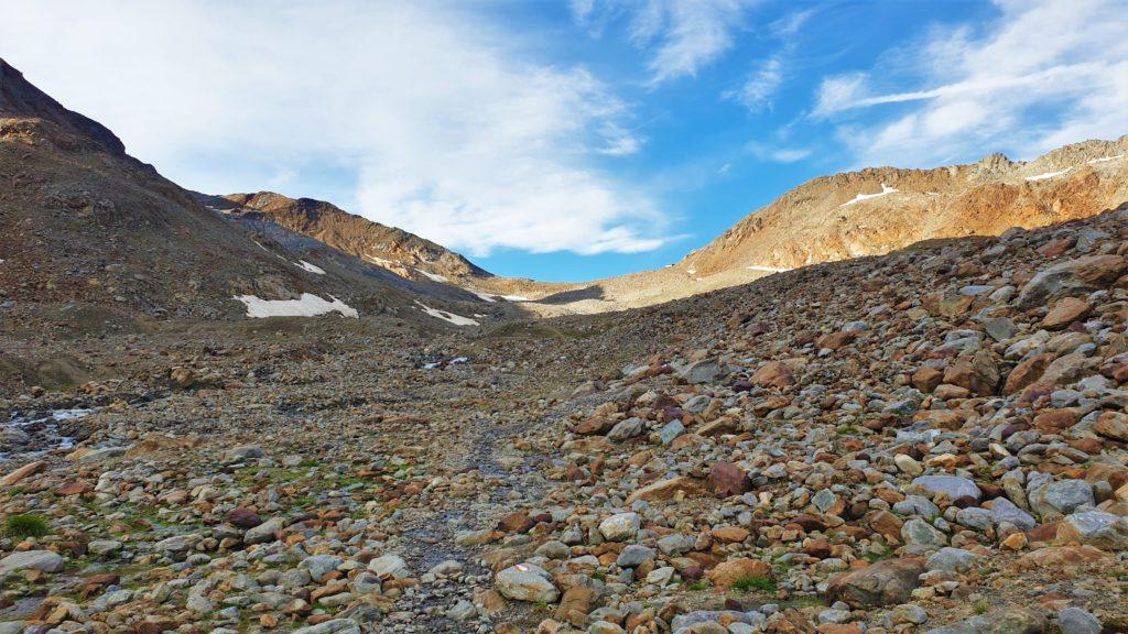 Weg zur Similaunhütte