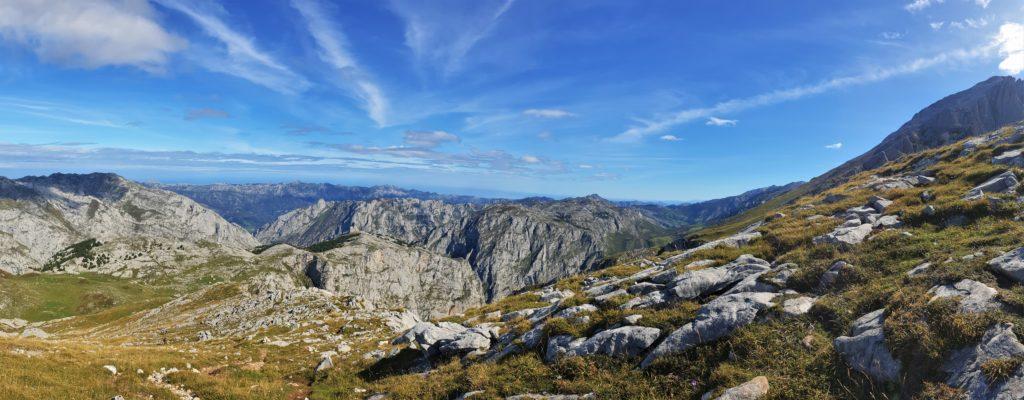 Blick über die Picos de Europa