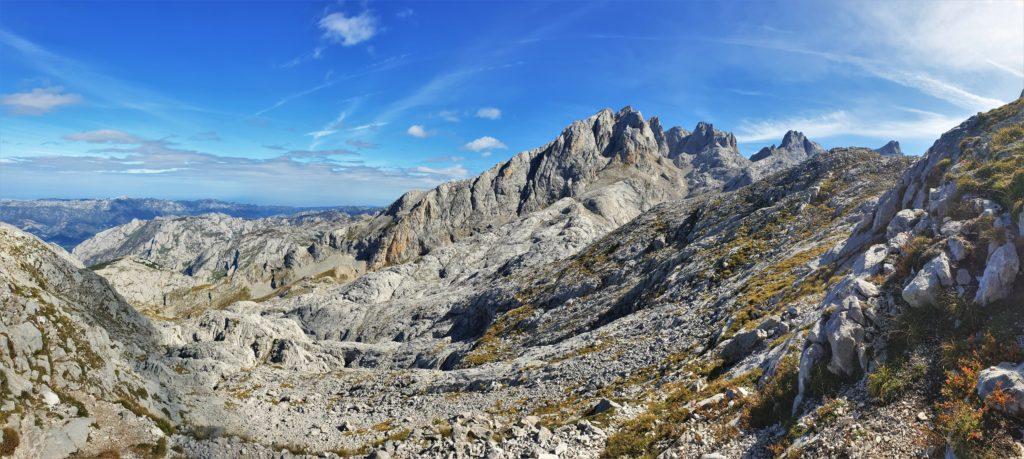 Grandioser Blick über die Picos de Europa