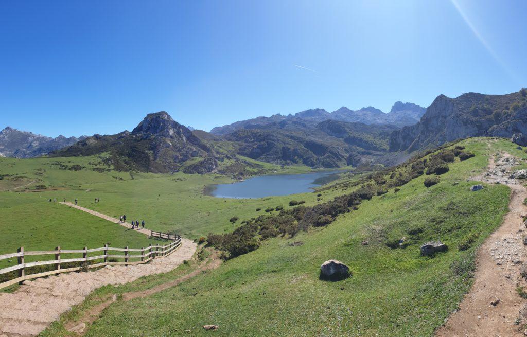 Lagos de Covadonga: Lago Ercina