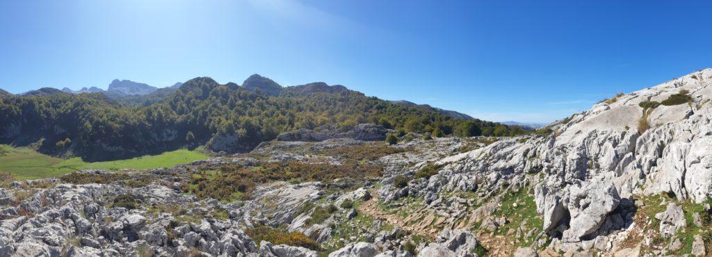 Karge Landschaft der Picos de Europa